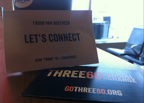 three60 biz card